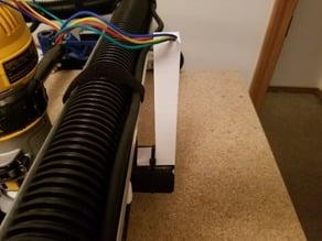 LowRider2 CNC X Stepper Wire Guide