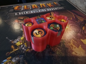 Token Caddy for Clank! Boardgame
