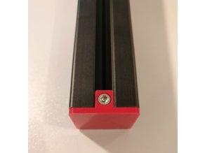 3030 extrusion end cap (EU-TypeB,slot8)