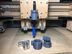 Collet Type Pen Holder for CNC Plotter