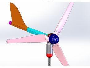 Small wind turbine MK2