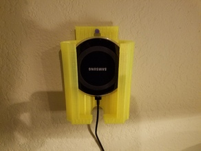 Samsung Galaxy 7 and wireless charger holder