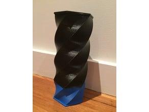 twisty vase