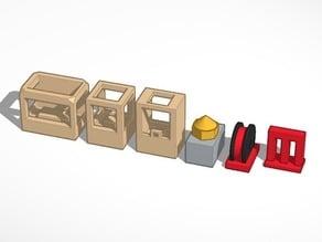 Makerbot Family Tree #Chess Set