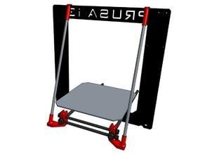 Prusa i3 frame reinforcement