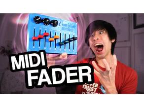 Arduino MIDI Fader