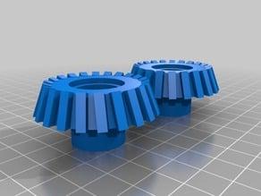 Spline gears