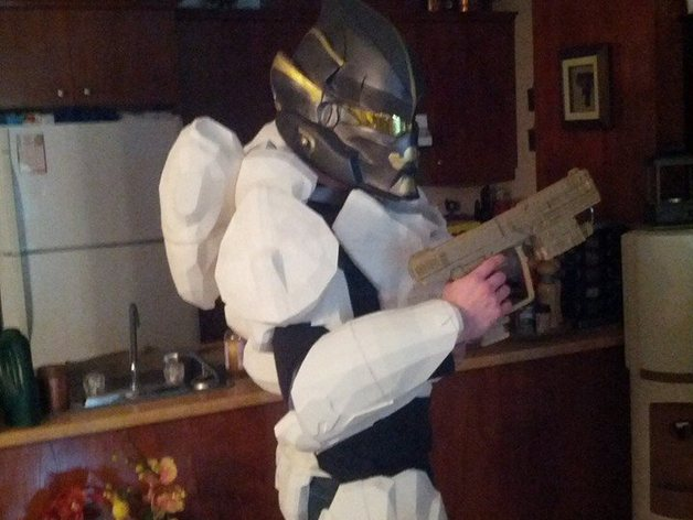 Halo 4 spartan armor by LoboNightWolfz - Thingiverse