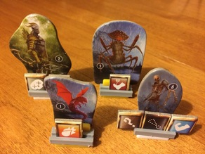 Gloomhaven Monster Standee Condition Holder Clip