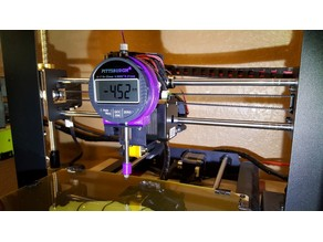 WanHao Dial Gage Mount for front fan bracket