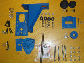 Screw extruder for Prusa I3 - Estrusore a vite per Prusa I3