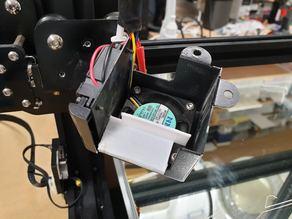 CR10 Stock Hotend Fan Deflector