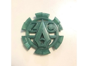 Green Arrow Logo Maker Coin