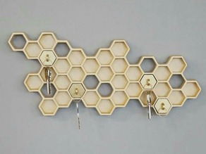 Honeycomb Key Holder