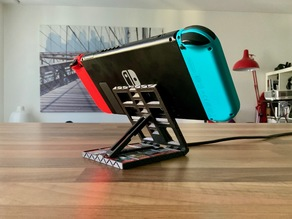 Print in place Nintendo Switch stand & game case