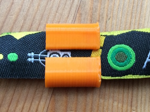 Festival or concert wristband clip