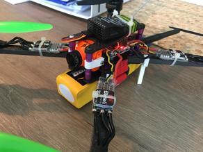 FPV camera micro to standard size - FPV bracket - Alpha monster