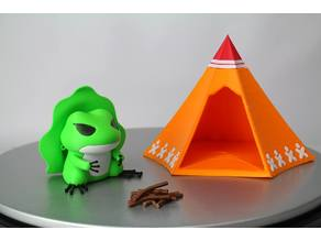 Travel Frog Tent / 旅行青蛙帳篷