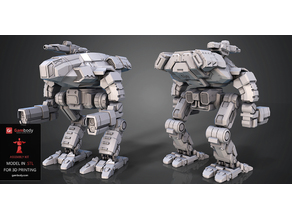 FanArt Battletech Marauder 3D Model Assembly Kit