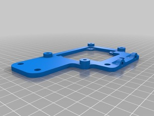 MM Arduino Mount w/ step down converter and fan
