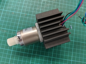 Parametric Stepper Motor Heat-Sink