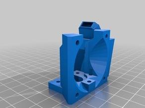 Mini Kossel Hot End Dual Fan (40mm + 30mm)