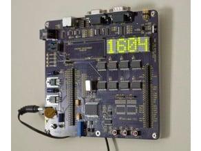 zilog z8 Encore! digital clock wall hanger bracket
