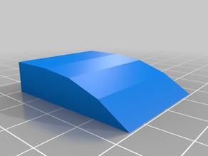 air scoop for a 1/10 rc car