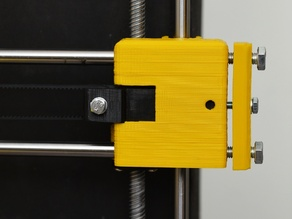 Prusa i3 X-Ends for Z Acme Leadscrew