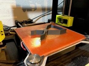 Print-in-place mini clamp