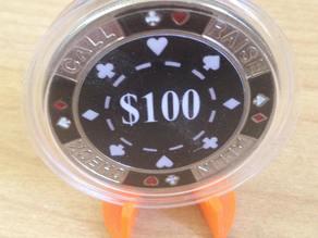 Poker chip holder