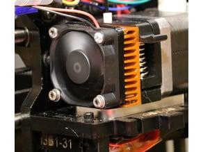 Noise Damper – Schalldämpfer für MK8 Extruderlüfter
