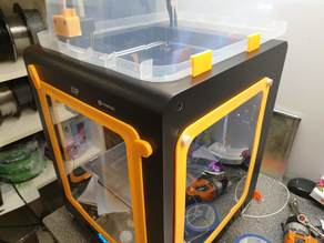 Monoprice Maker Ultimate / Wanhao D6 Door and sides