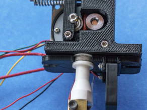 Extruder for Geared stepper motor 1:50 with Ceramic Hotend Chess from 2engineers