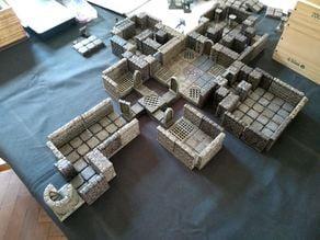 OpenForge 2.0 Dungeon Saga Dwarf King Quest - Print List & Custom Walls