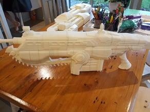 GOW Lancer Gun