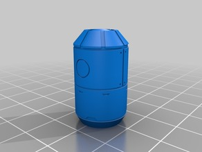 Sci-Fi Storage Tanks (Scatter Terrain, 3 types)