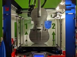 Hovalin 2.0 3D Printed Violin