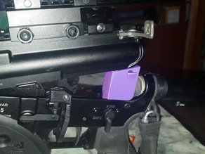 AR-15 cleaning support
