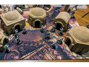 Star Wars Legion Terrain - Tatooine Dwellings