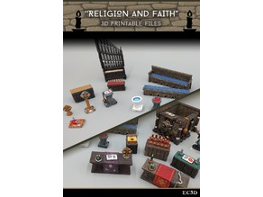 Religion and Faith - 28mm gaming - Sample items