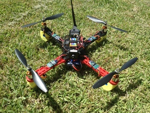 3D Printed Quadcopter