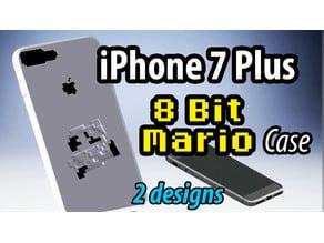 iPhone7 Plus Case - 8 Bit Mario