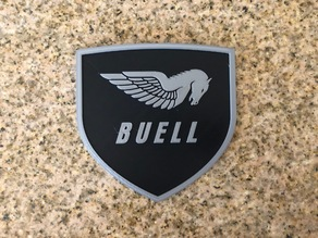 Buell American Motorcycles Pegasus Logo Sign