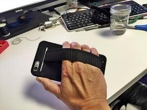 iPhone 6 Plus case with elastic strap option