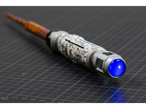 Sonic Screwdriver Wand 2 - The FDM Redux