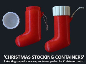 Christmas Stocking Container