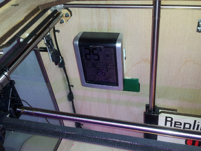 Replicator Thermometer/Humidity Meter Clip