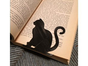 Sitting Cat Bookmark