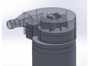 CIM motor centrifugal water pump